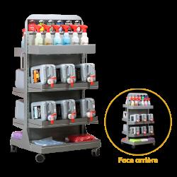 Bottle Rack Run Color Line