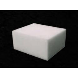 Eponge de polissage blanche