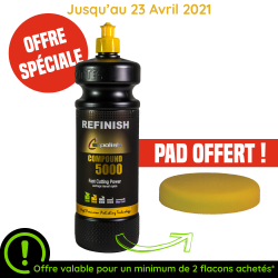 COMPOUND 5000 1L+PAD OFFERT