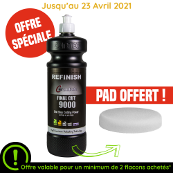 FINAL CUT 9000 1L+PAD OFFERT